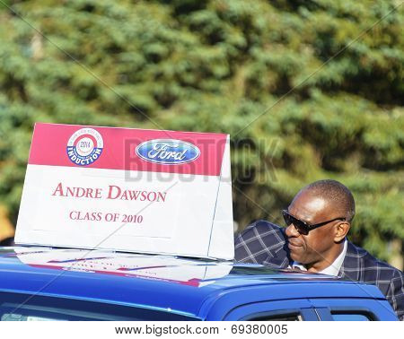 Andre Dawson, Hall of Fame Parade