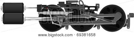 Steam Locomotive Drive Axles