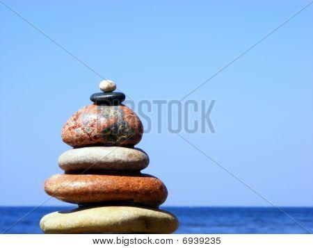 The Pyramid Of Stones