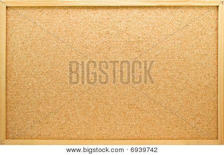 Empty Memo Board In Closeup