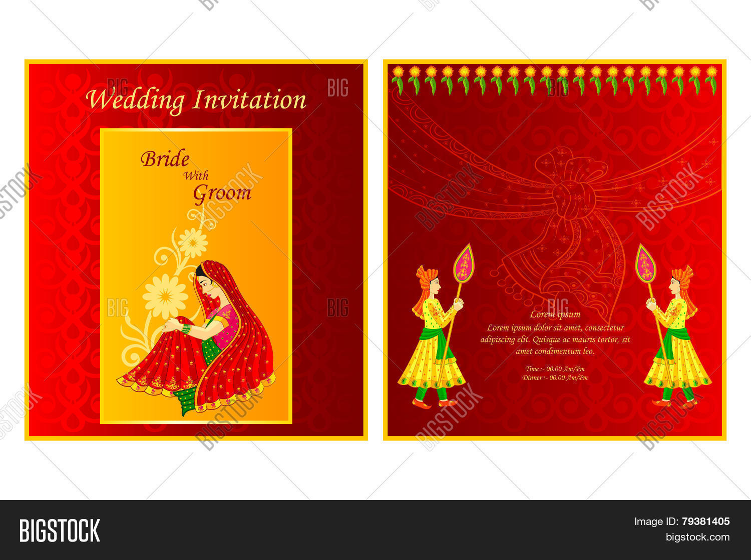 Indian Wedding Vector & Photo (Free Trial) | Bigstock
