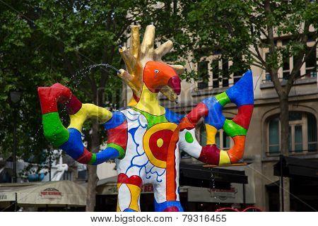 Fountain Pompidou