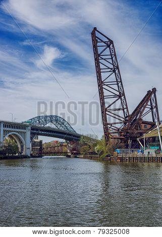 Three Bridges On The Cuyahoga