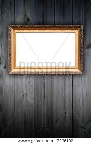 Vintage Frame on the Wall
