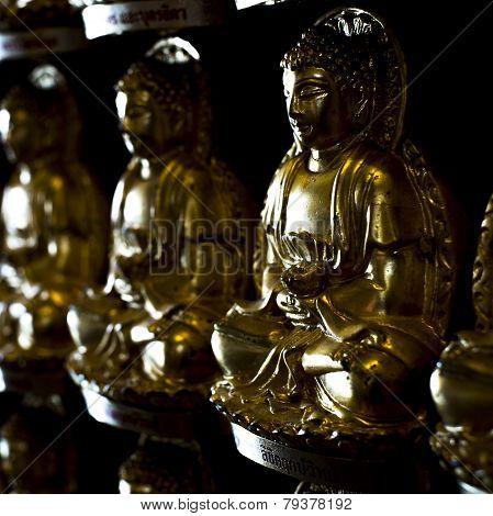 Budda Wall at Leng Ner Yee II Temple
