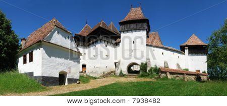 Viscri Panorama, Transylvania, Romania
