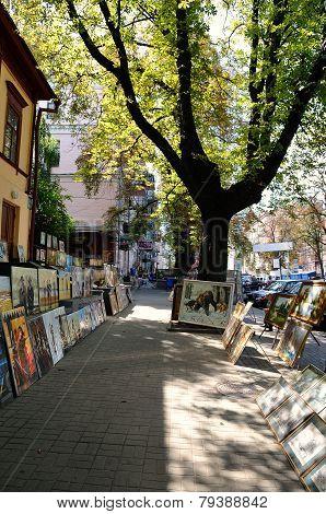 Andreyevskiy Spusk (andrew's Descent), Kiev
