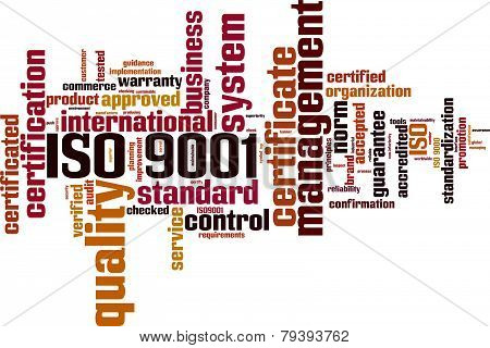 Iso 9001 Word Cloud