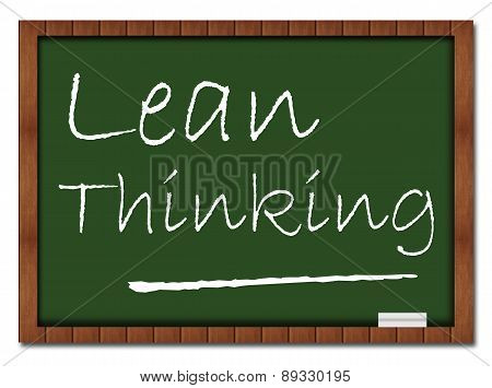Lean Thinking Classroom Board