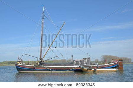 Eel Fishing Boat,Lower Rhine,Germany