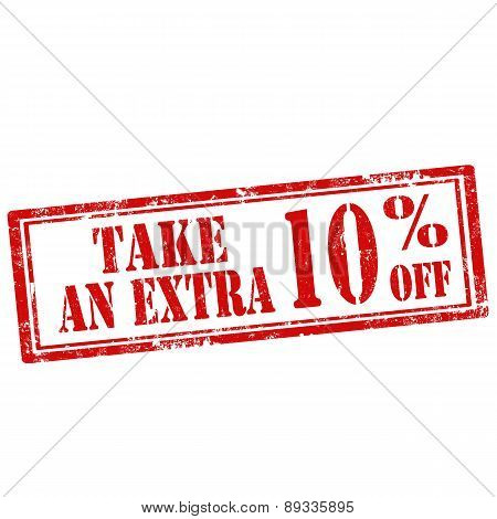 Take An Extra 10% Off-stamp