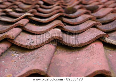 Old red roof - must be renovated