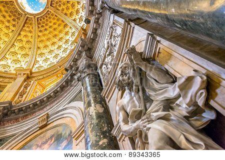 Santa Maria Assunta Cathedral Interiors In Siena