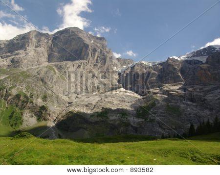 Grindelwald Wilderness In Summer