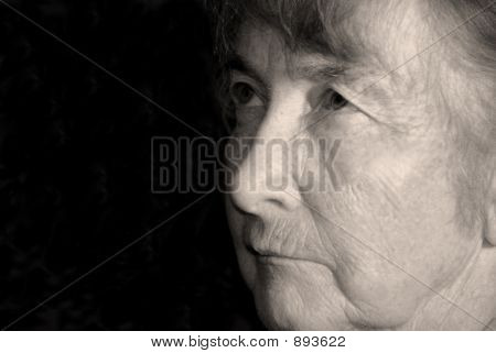 Old Woman Face