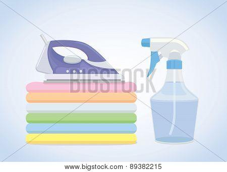 Iron cloth tool equipment