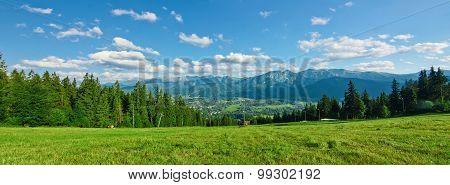 Panoramic View Of Tatras