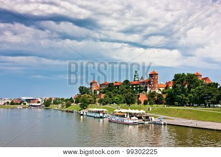 Wawel Castle And Park