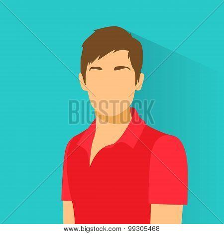 Profile Icon Male Avatar Portrait Casual Person Silhouette Face