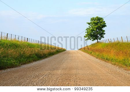 Midwest Gravel Road