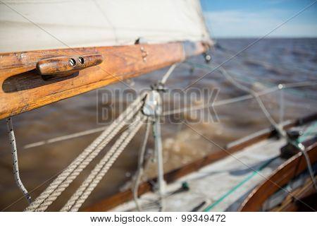 Saling Argentina Rio de la plata. Sailboat Sprit. Beautiful adventure. poster