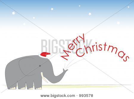 Mr Elephant'S Christmas Cheer