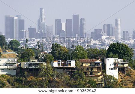 Contrasts in Los Angeles, California