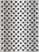 High resolution concept conceptual gray metal stainless steel aluminum perforated pattern texture mesh background poster