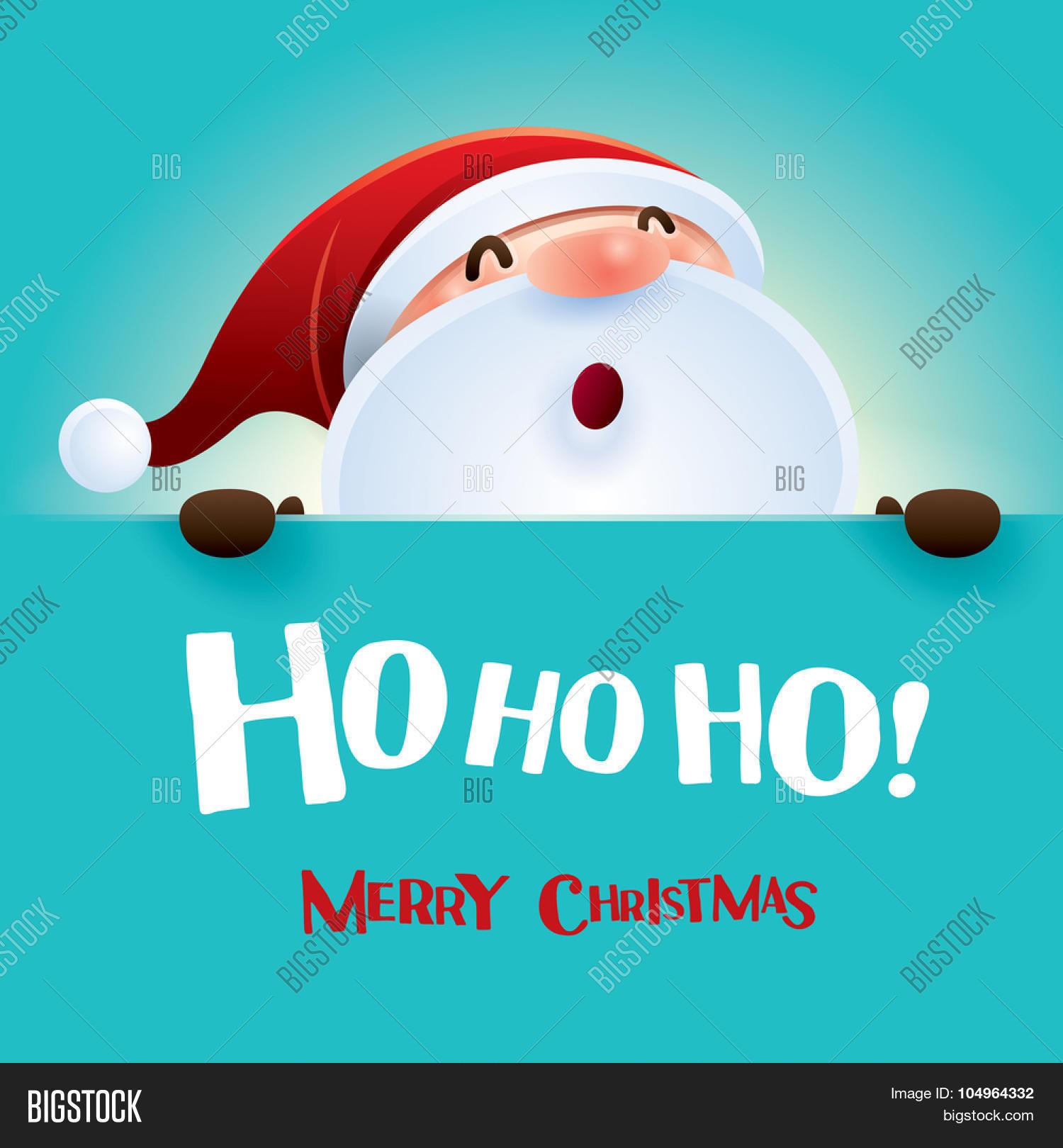 Ho Ho Ho Merry Christmas.Ho Ho Ho Merry Vector Photo Free Trial Bigstock