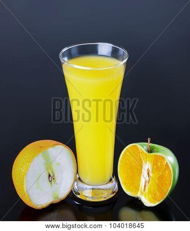 Juice, Apple Orange