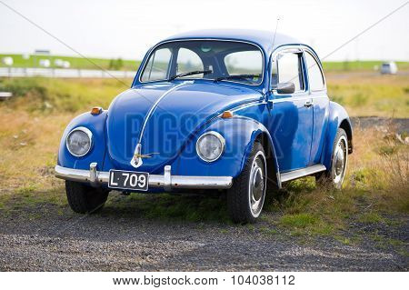 Volkswagen Beetle - Kaefer - Bug retro car