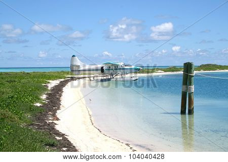 Ocean view in the Dry Tortugas National Park