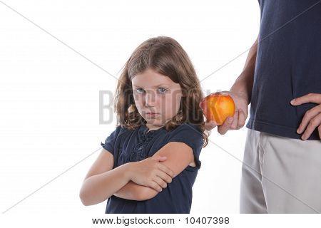 Girl Likes Junk, Won't Eat Apple
