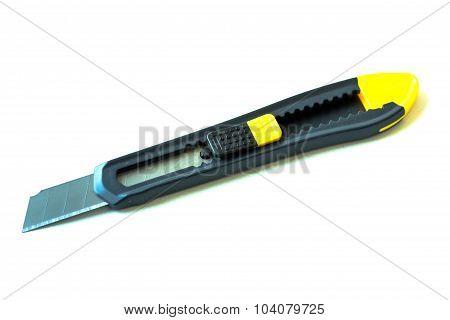 Penknife On White Background