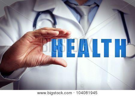 Medicine doctor.Modern medical technologies concept