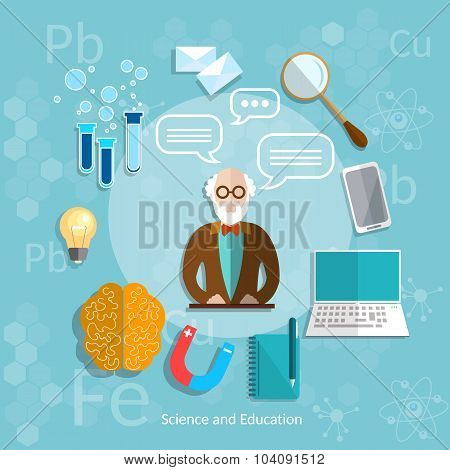 Science And Education Professor Online Education Theory Teacher Classroom University College