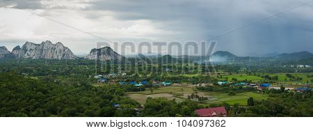 Mountain Landscape In Thailand