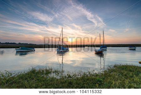Boats At Blakeney