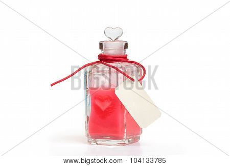 Philtre. Glass Bottle With Love Potion