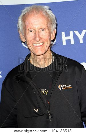 MOORPARK, CA - OCT 5: Robbie Krieger arrives at the 8th Annual Medlock/Krieger Invitational Golf Concert at the Moorepark Country Club in Moorpark, CA on October 5, 2015.