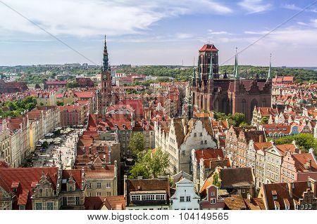 Center Old Town, Gdansk