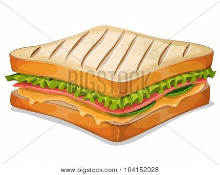 French Sandwich Icon