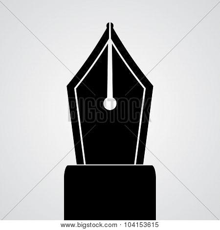 Pen tool silhouette