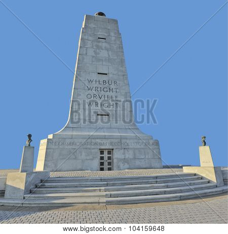 Wright Brothers Monument Front View