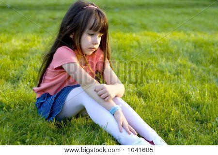 Sad Little Girl.