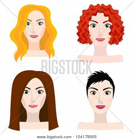 Different Types Of Woman And Girl Appearance