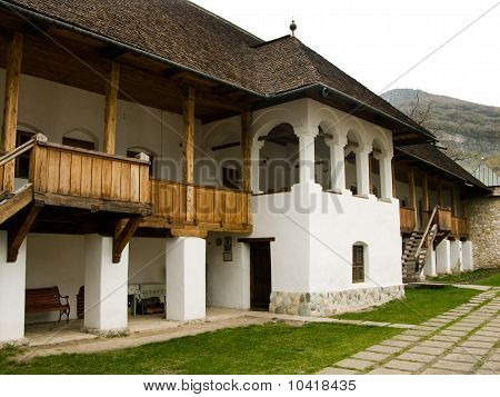 Traditional Monastery Of Polovragi, Romania
