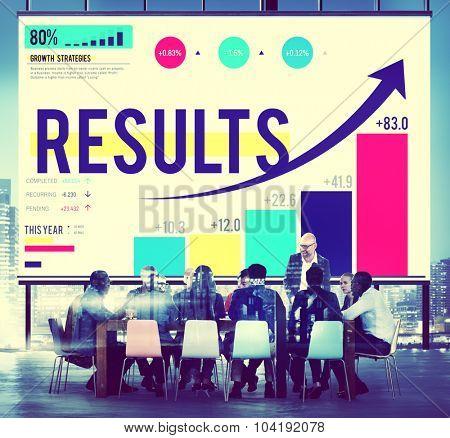 Results Conclusion Outcome Achievement Target Concept