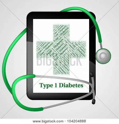 One Diabetes Shows Urine Glucose And Affliction