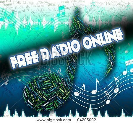 Free Radio Online Represents With Our Compliments And Complimentary